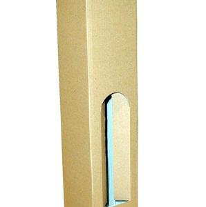 Kutija Za Jednu Butelju 2K/e 80x80x350mm Ravna