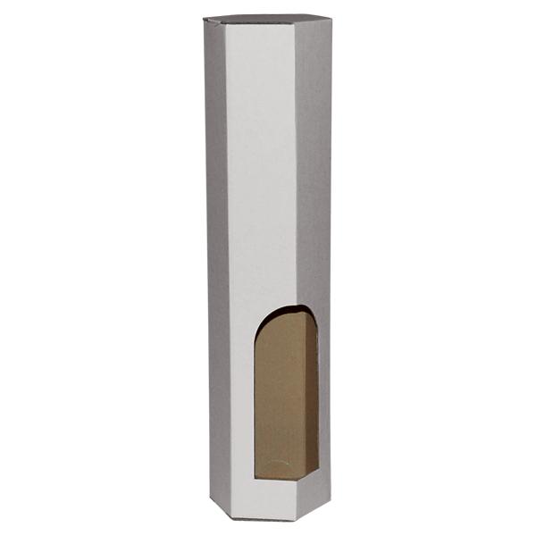 Kutija za jednu butelju BK/e 80x80x350mm - Šesterokutna-0
