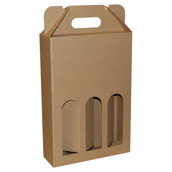 Kutija za tri butelje 2K/e 240x80x350mm-0