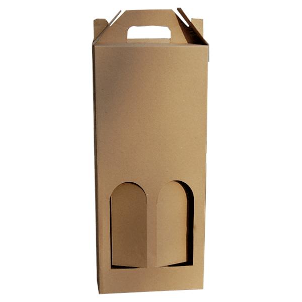 Kutija za dvije butelje 2K/e 160x80x370mm-0