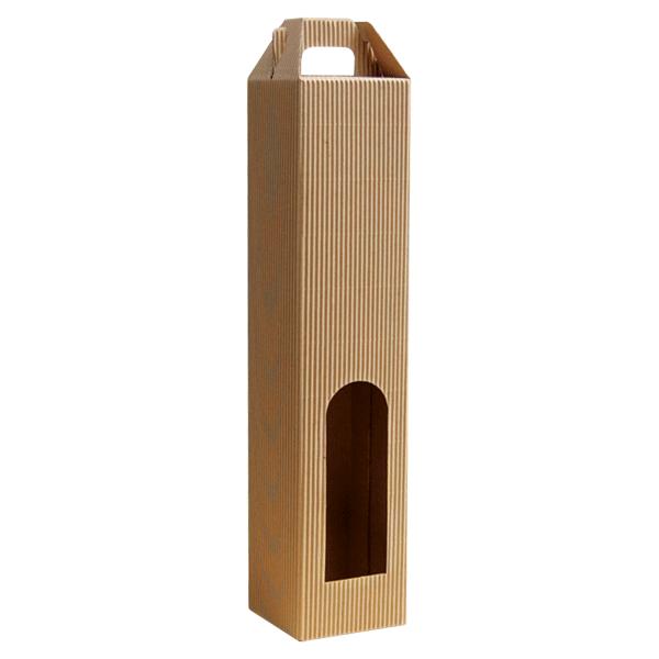 Kutija za jednu butelju KK/e 80*80*370mm -0