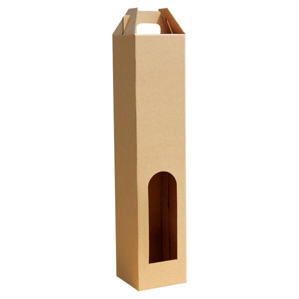 Kutija za jednu butelju 2K/e 80*80*370mm -0