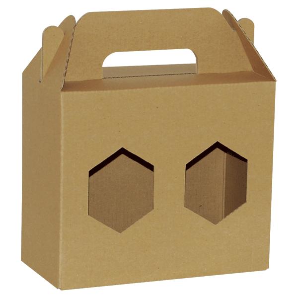 Poklon kutija za med 2K/e 180x90x160mm 2x720ml-0