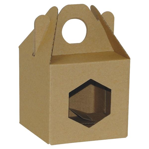 Poklon kutija za med 2Ke 90x90x90mm 1x370ml-0