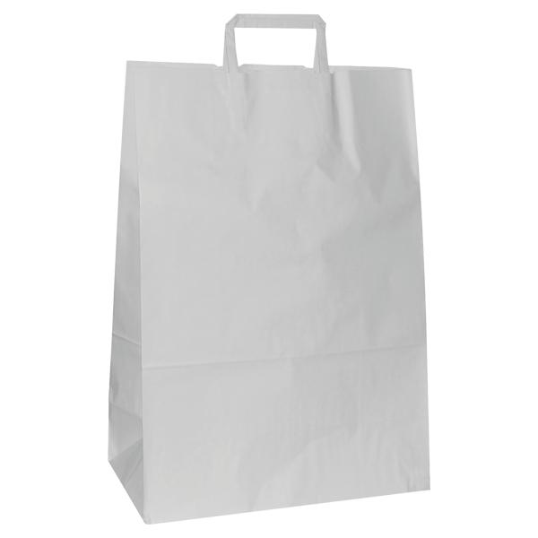 Natron vrećica 32x16x44cm - bijela-0