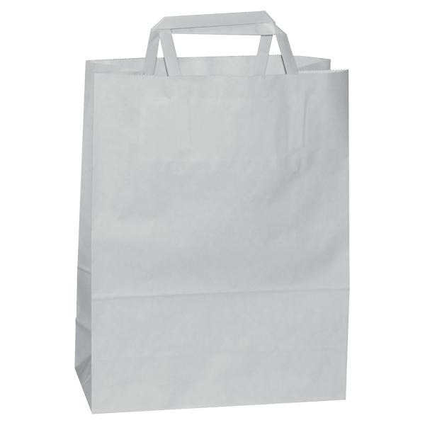 Natron vrećica 26x17x25cm - bijela-0