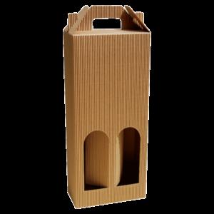 Kutija Za Dvije Butelje KV/GE 160x80x370mm