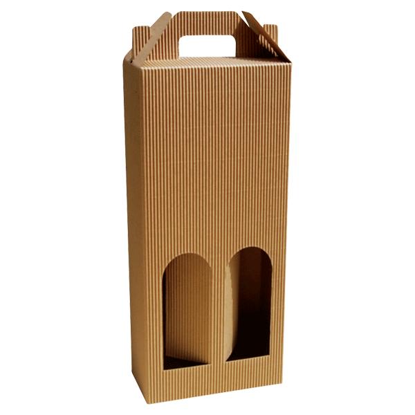 Kutija za dvije butelje KK/e 160x80x370mm-0