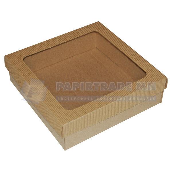 Ukrasna poklon kutija 240x240x70mm KVARNER-0