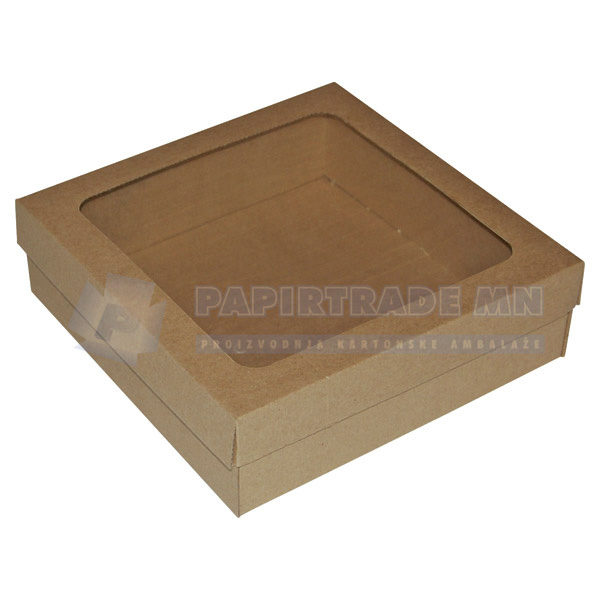 Ukrasna poklon kutija 240x240x70mm LIKA-0