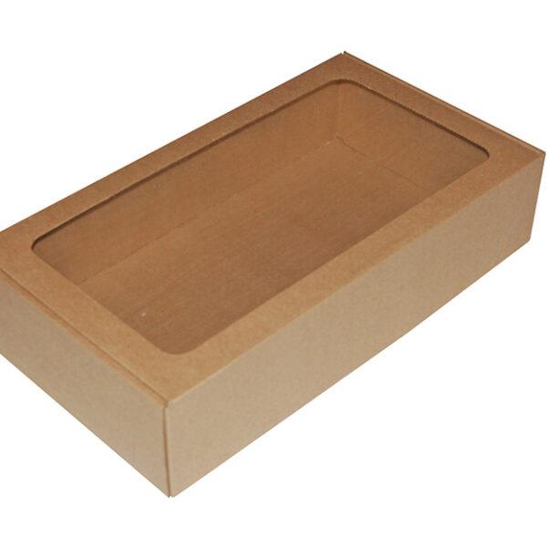 Ukrasna poklon kutija 380x210x85mm sa slamicom - DALMACIJA -0
