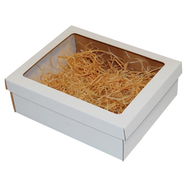 Ukrasna poklon kutija 220x170x70mm sa slamicom - SLAVONIJA-0