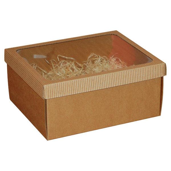 Ukrasna poklon kutija 225x185x105mm sa slamicom - ISTRA VISOKA-0