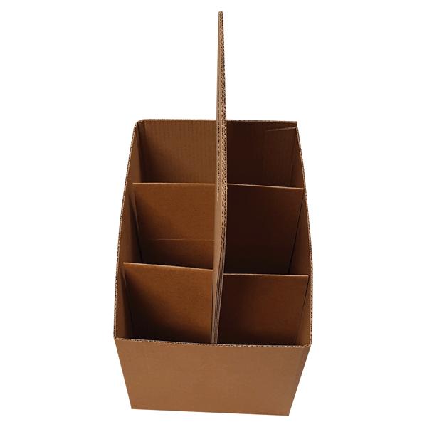 Štancana kutija K2Ke 200x135x140mm 6×0,33l NOSILJKA 3